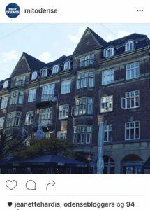 Instagram Mit Odense og love2live af Kristina Sindberg
