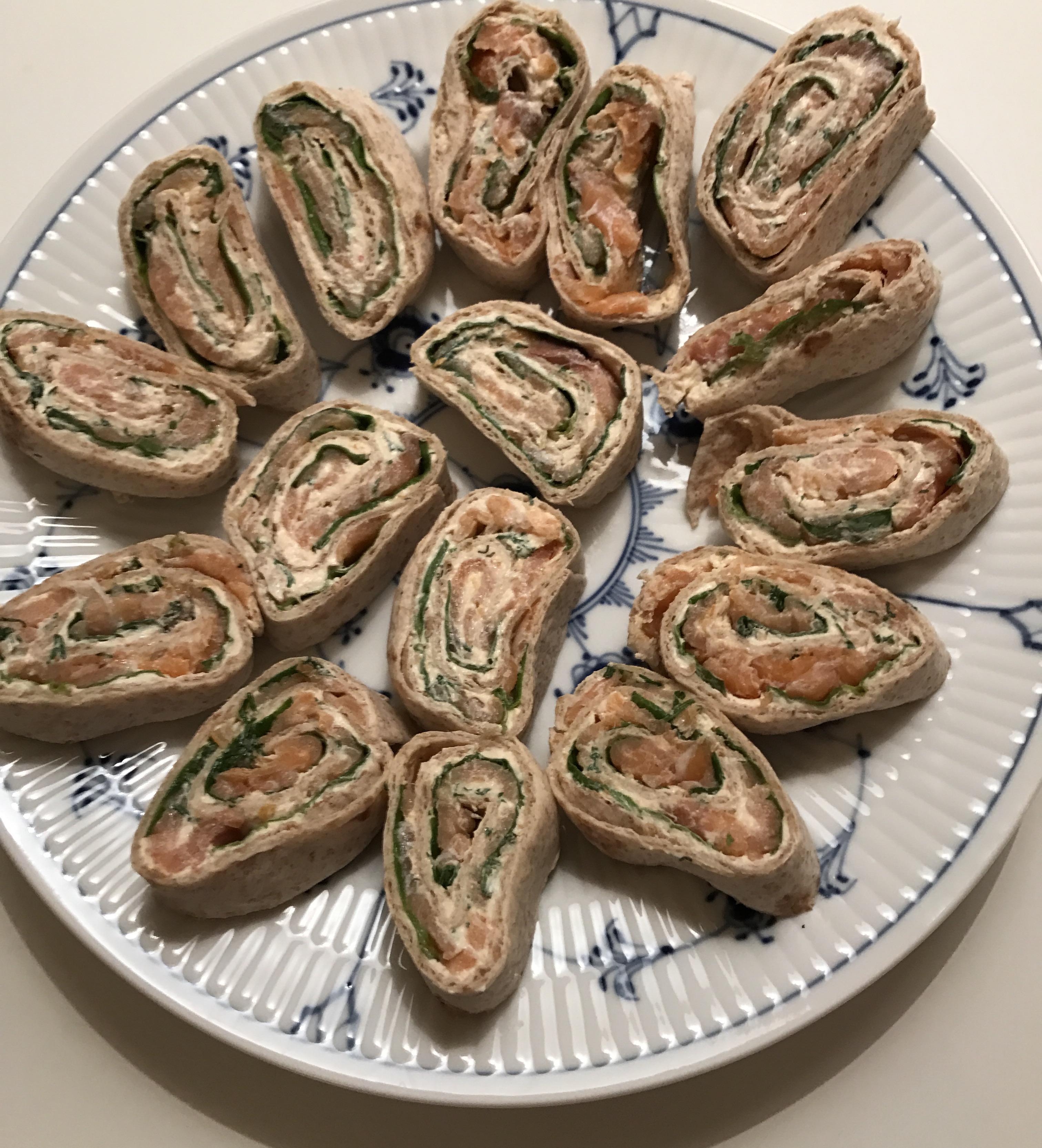 Lakseruller - love2live - forret - snack