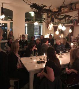 love2live af Kristina Sindberg med Tina Maria Madsen fra Mol&B Copenhagen i KLUB Q event
