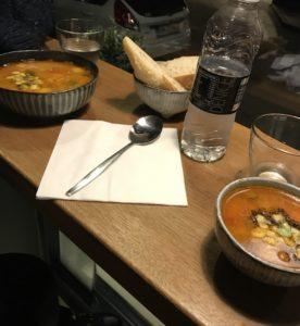 Suppe på Cafe Soup Stone i Odense med love2live.dk