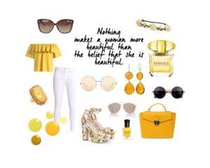 Sommertrendy i gult - love2live