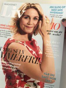 Magasinet LIV - Interview - Kristina Sindberg - Livsstilsblogger - love2live - KS online marketing