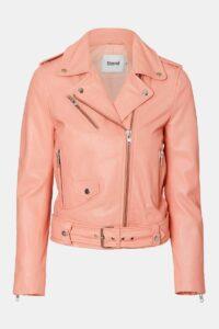 Trendy sommer - love2live - kristina sindberg - rosa skindjakke