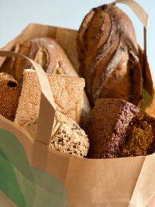 TooGoodToGo - Bagerpose - Franskbrød - rugbrød - Fru Lund bageri - odense - Dalum