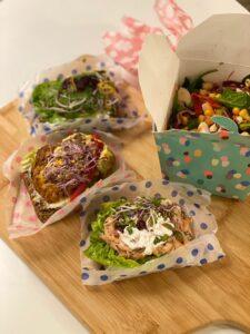 TooGoodToGo - riceteria by rice - salat - smørrebrød - madspild