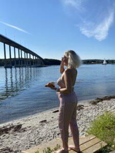 sommermorgen - pyjamas bukser - Hunkemøller - Kristina Sindberg - livsstilsblogger - Influencer - love2live